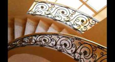 Eureka Forge specializes in stairs, staircases, balustrades and handrails